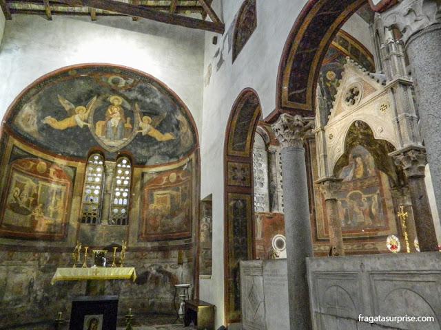 Afrescos da Igreja de Santa Maria in Cosmedin, Roma