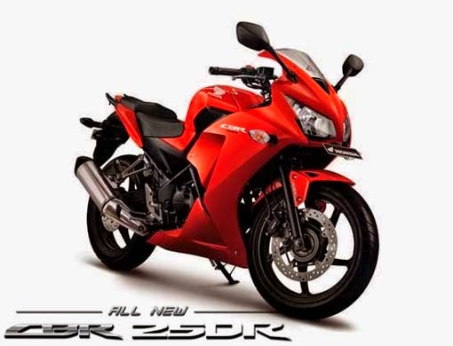 Honda CBR250R Millenium Red