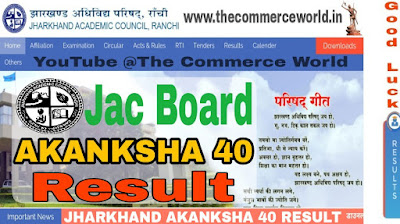 Jharkhand AKANKSHA 40 Result 2019- Get Merit List PDF Here