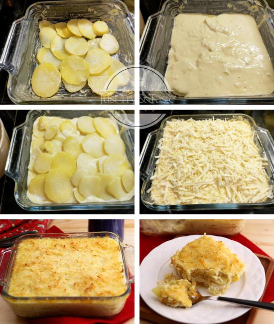 Resep Potato au Gratin JTT