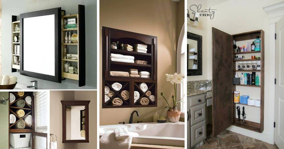 15 Wonderful Built In Shelving And Clever Hidden Storage Ideas For The Bathroom