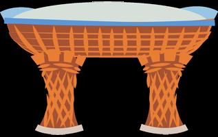 illustration torii gare de Kanazawa