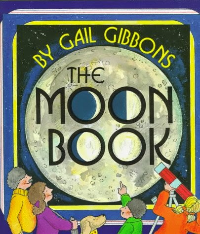 The Moon Book, part of children's book review list about outer space