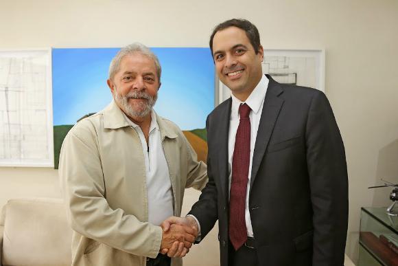 Governador Paulo Câmara do PSB é sondado para ser o candidato a vice-presidente de Lula em 2022