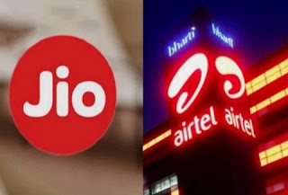 Reliance Jio Prepaid plan of Rs 555 compete to Airtel Prepaid plan of Rs 558