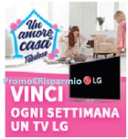 Logo Un amore di casa con Fabuloso: vinci 12 TV LG Super Ultra HD