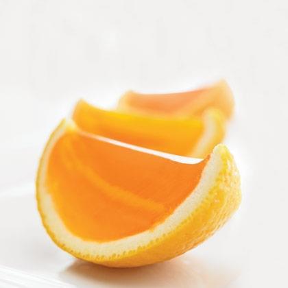 Gelatin Oranges Recipe