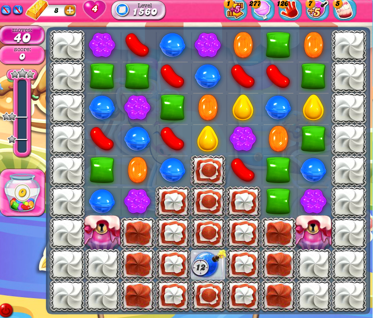 Candy Crush Saga 1560