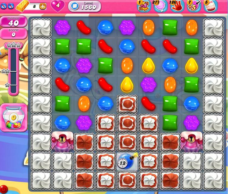 Candy Crush Saga 1560