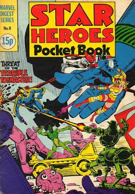 Star Heroes pocket book #8, the Micronauts