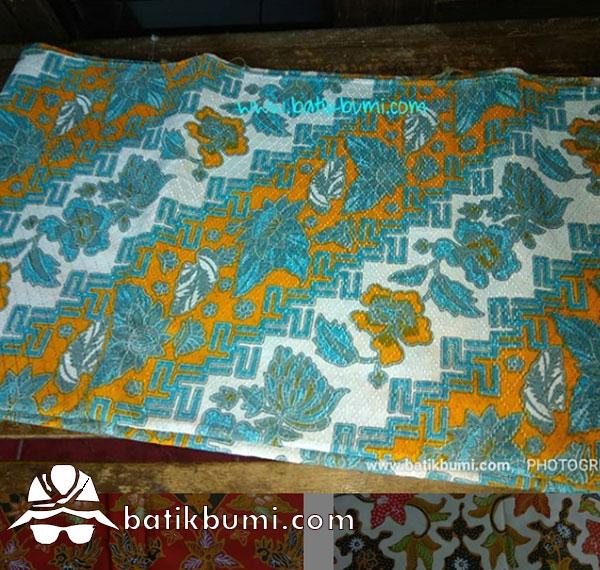 Batik Dobby Print Motif Buketan Seling