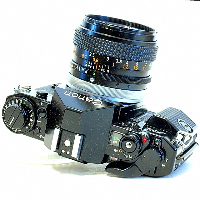 Canon A-1 35mm SLR Film Camera