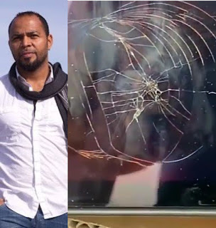 Ramsey Noah slams store after being told his new TV screen isn't covered by warranty when he took it back with a crack (video)