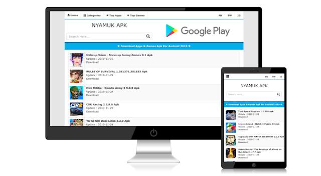 Situs Download Aplikasi Dan Game Android Terlengkap