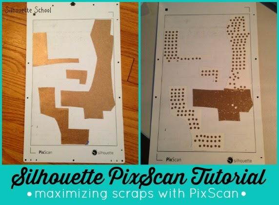 Silhouette Pixscan, Pixscan tutorial, scraps