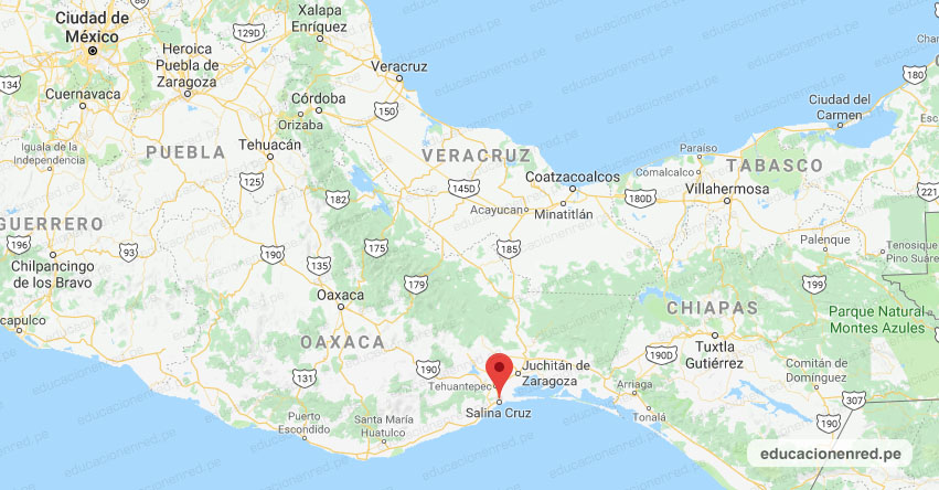 Temblor en México de Magnitud 4.9 (Hoy Miércoles 3 Abril 2019) Sismo - Epicentro - Salina Cruz - Oaxaca - SSN - www.ssn.unam.mx