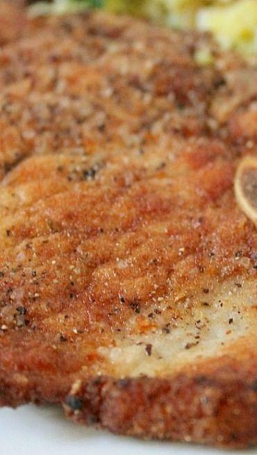 Perfect Fried Pork Chops