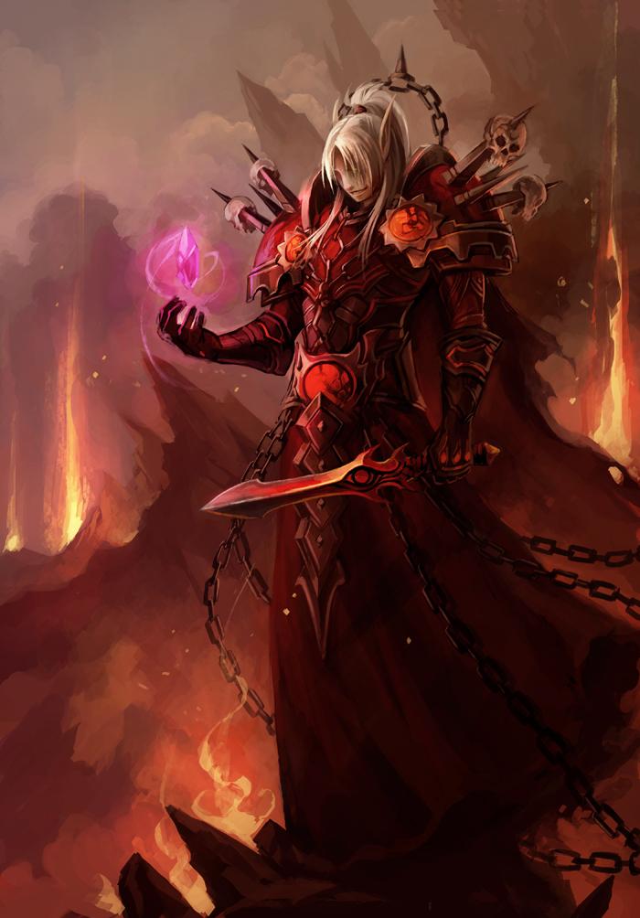 The Dark Side of Beauty: World of Warcraft Series: Warlock