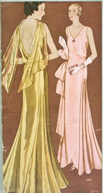 Moda festa década de 30