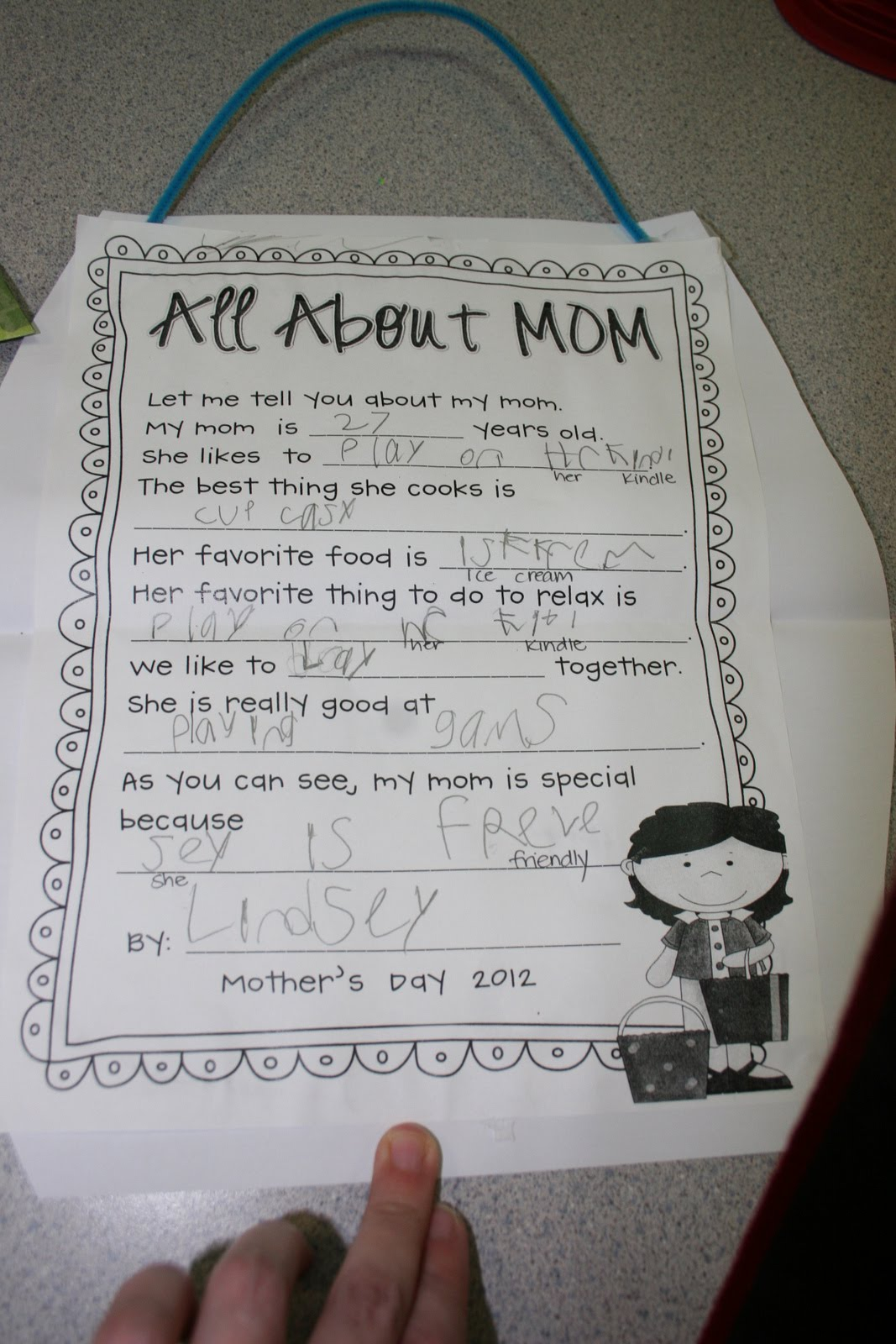 Dizzy For Kindergarten Happy Mother S Day