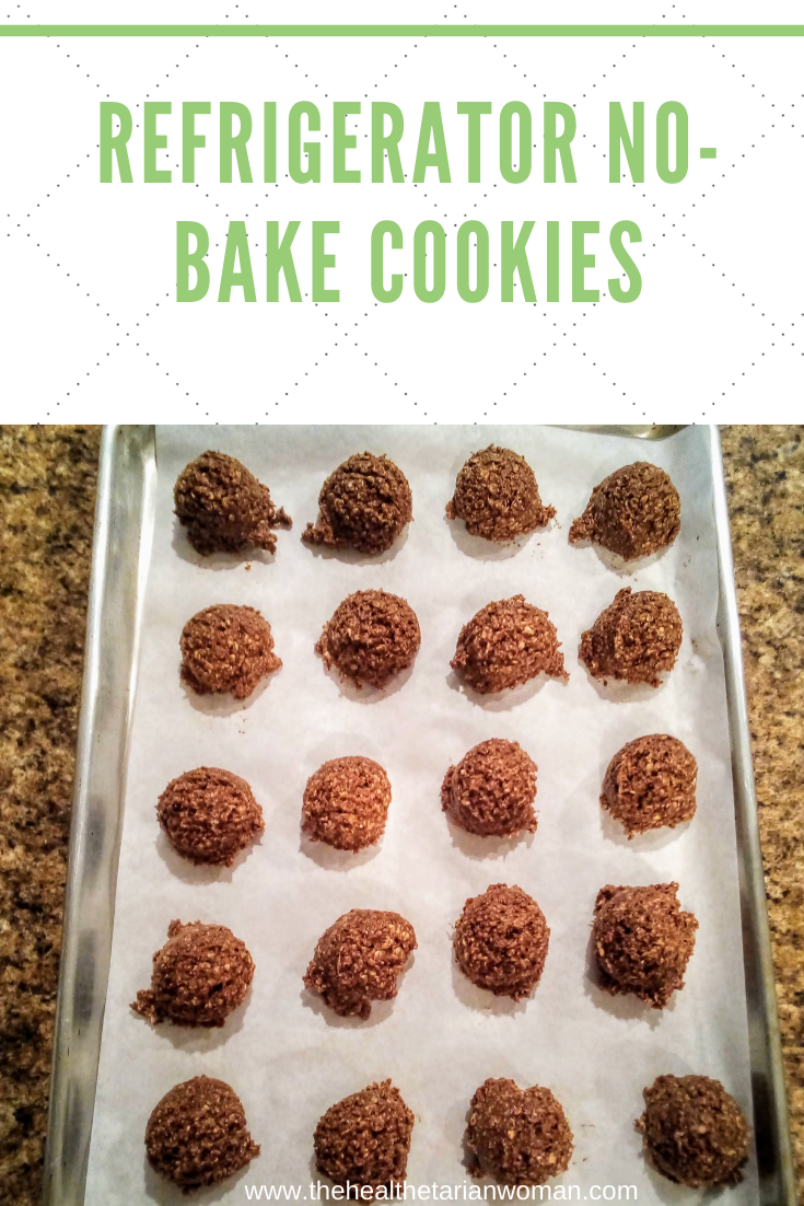Fast & Easy Refrigerator No-Bake Cookies No Cooking Required