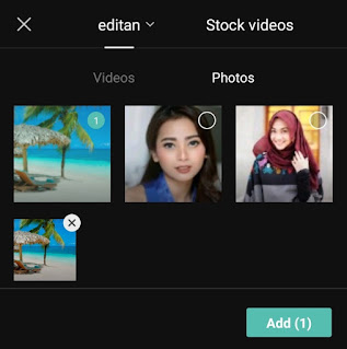 add background image in video