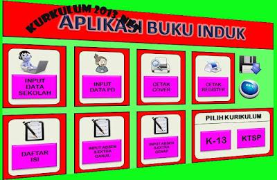 Aplikasi Buku Induk Siswa Kurikulum 2013 Dan KTSP 2 In 1