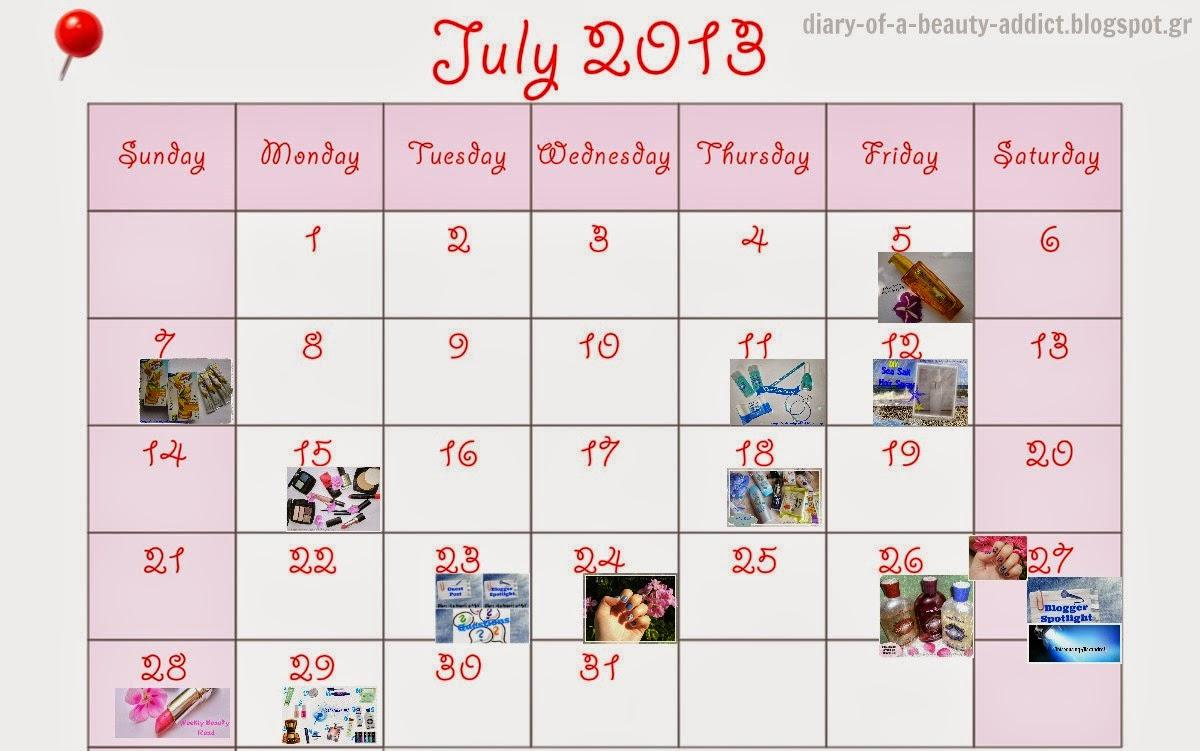 July Summary {2013}