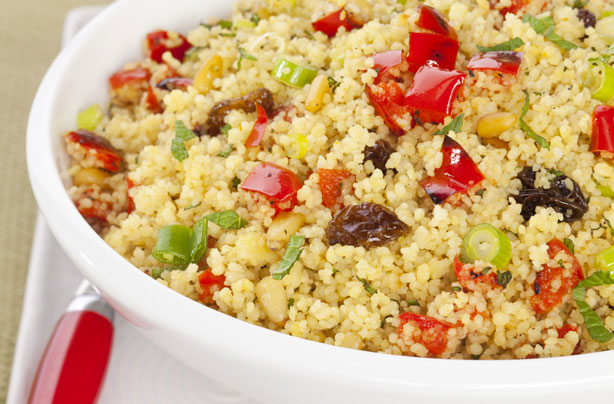Moroccan Fruit and Nut Couscous Recipe