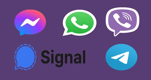 Aplikasi-Chat-Perpesanan-Obrolan-Terbaru
