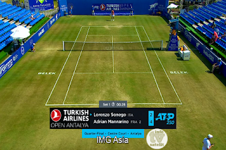 ATP 250 Antalya Open AsiaSat 5 Biss Key 27 June 2019