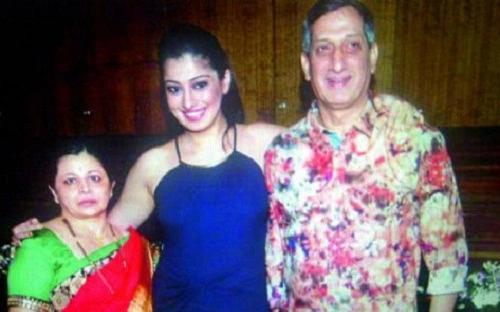 Lakshmi Rai Family