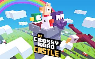 Crossy Road Castle on Apple Arcade
