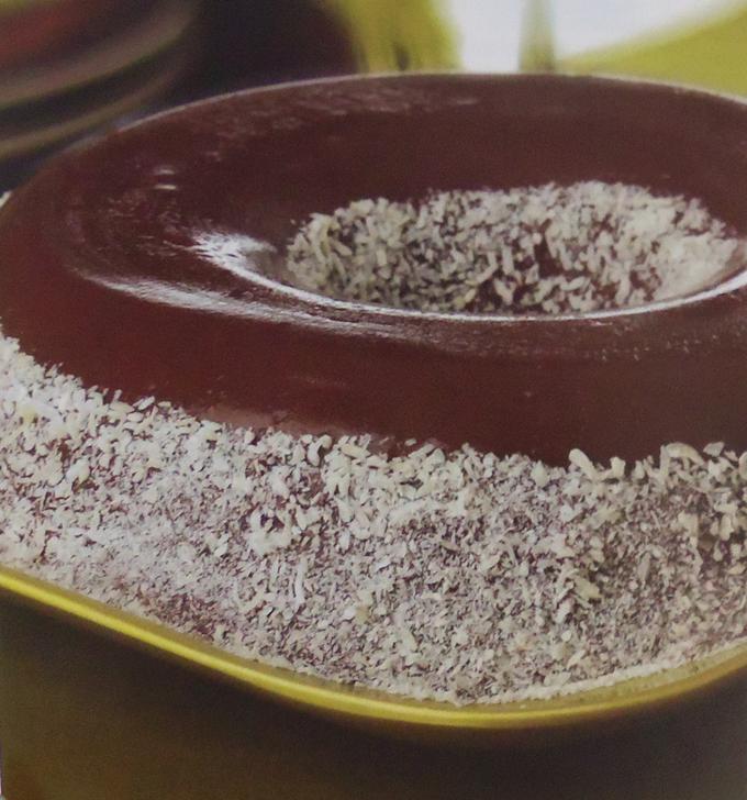 Doce Brigadeirão com coco