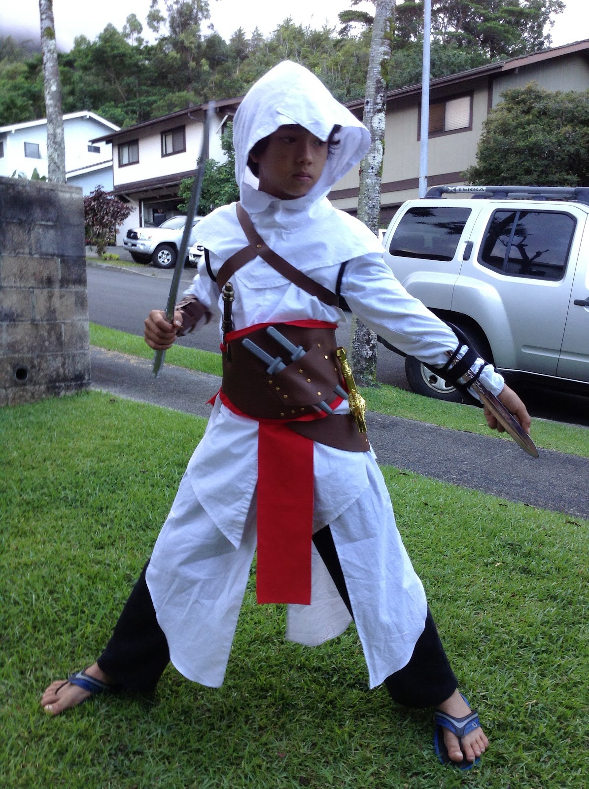 Sew With Aloha Assassins Creed Altair Costume