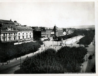 Photo ancienne de Clermont-Ferrand place de Jaude