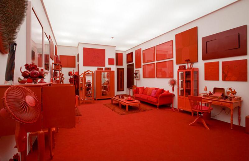"""""""Desvio para o Vermelho"""", obra de Cildo Meirreles em Inhotim!"""