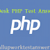 oDesk PHP 5 test answers 2013
