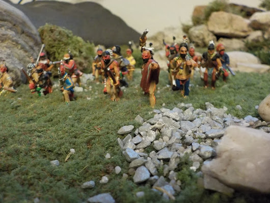 Wargame figures (part 12): Woodland Indians