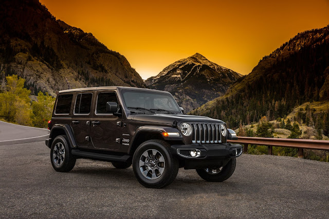 Новый набор стандартных функций Jeep Wrangler