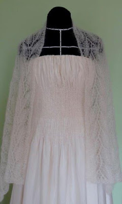 gebreide bruidssjaals