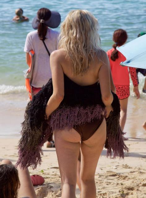 Ashley James – wearing a bikini in Bali