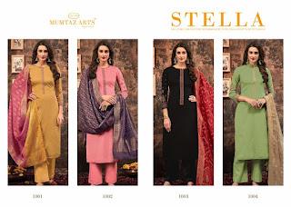 Mumtaz Arts Stella Jam Satin Salwar Kameez Collection In Wholesale Rate