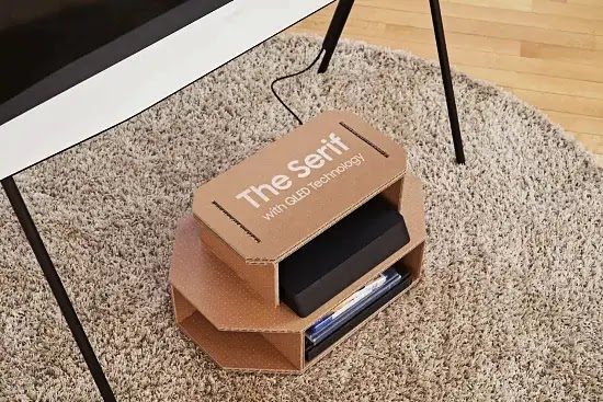 Samsung TV boxes can be transformed into cat houses
