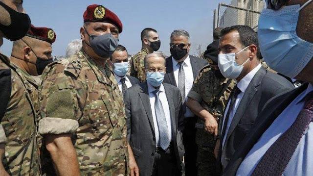 Presiden Lebanon: Bisa Saja Ledakan Beirut karena Serangan Rudal dari Pihak Asing