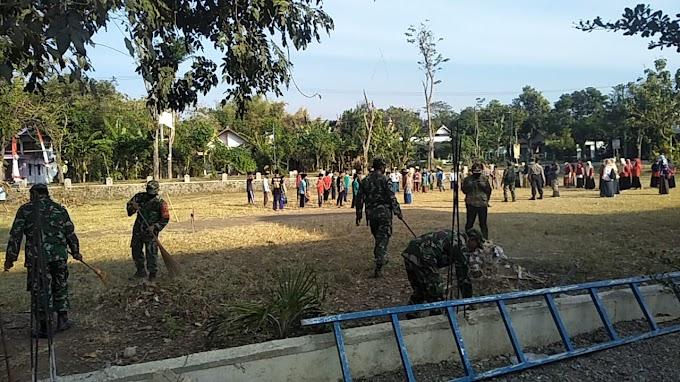 Jalin Silaturahmi, Kodim 0802/Ponorogo Gelar Karya Bakti Bersama Masyarakat