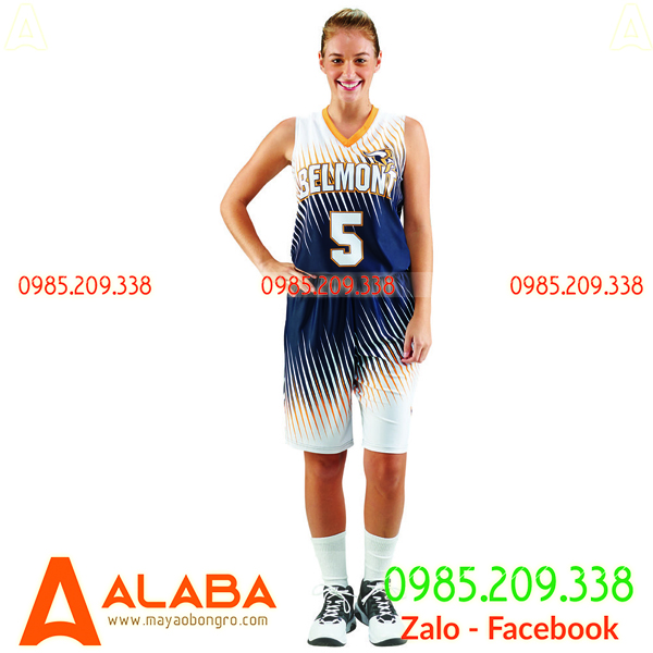 Áo bóng rổ nữ chính hãng