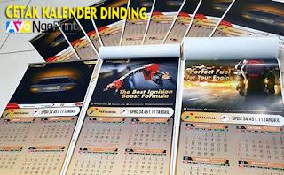 tempat cetak kalender dinding terbaik di Cabangbungin, Bekasi