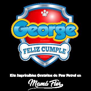 Logo de Paw Patrol: George