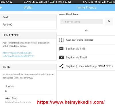 Callind aplikasi chatting pengganti whatsappb